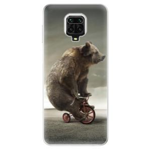 Silikonové pouzdro iSaprio - Bear 01 na mobil Xiaomi Redmi Note 9 Pro / Xiaomi Redmi Note 9S