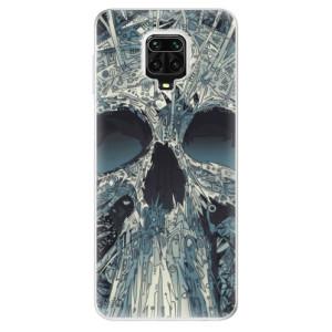 Silikonové pouzdro iSaprio - Abstract Skull na mobil Xiaomi Redmi Note 9 Pro / Xiaomi Redmi Note 9S