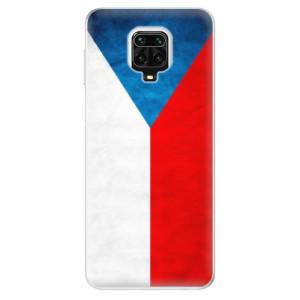 Silikonové pouzdro iSaprio - Czech Flag na mobil Xiaomi Redmi Note 9 Pro / Xiaomi Redmi Note 9S
