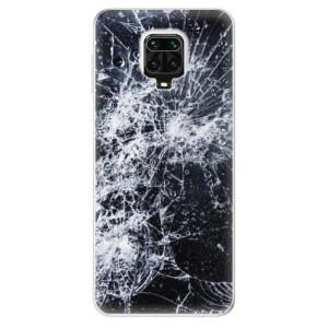 Silikonové pouzdro iSaprio - Cracked na mobil Xiaomi Redmi Note 9 Pro / Xiaomi Redmi Note 9S