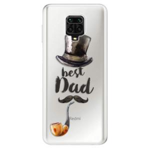 Silikonové pouzdro iSaprio - Best Dad na mobil Xiaomi Redmi Note 9 Pro / Xiaomi Redmi Note 9S