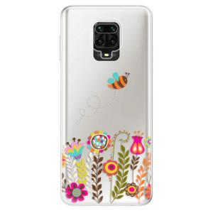 Silikonové pouzdro iSaprio - Bee 01 na mobil Xiaomi Redmi Note 9 Pro / Xiaomi Redmi Note 9S