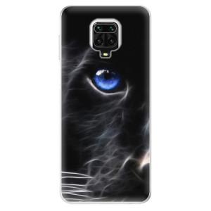 Silikonové pouzdro iSaprio - Black Puma na mobil Xiaomi Redmi Note 9 Pro / Xiaomi Redmi Note 9S
