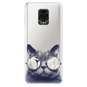 Silikonové pouzdro iSaprio - Crazy Cat 01 na mobil Xiaomi Redmi Note 9 Pro / Xiaomi Redmi Note 9S