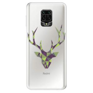 Silikonové pouzdro iSaprio - Deer Green na mobil Xiaomi Redmi Note 9 Pro / Xiaomi Redmi Note 9S