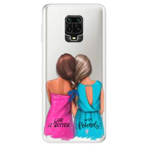 Silikonové pouzdro iSaprio - Best Friends na mobil Xiaomi Redmi Note 9 Pro / Xiaomi Redmi Note 9S
