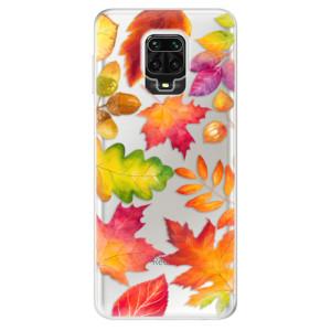 Silikonové pouzdro iSaprio - Autumn Leaves 01 na mobil Xiaomi Redmi Note 9 Pro / Xiaomi Redmi Note 9S