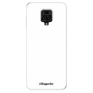 Silikonové pouzdro iSaprio - 4Pure - bílé na mobil Xiaomi Redmi Note 9 Pro / Xiaomi Redmi Note 9S
