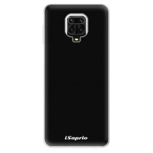 Silikonové pouzdro iSaprio - 4Pure - černé na mobil Xiaomi Redmi Note 9 Pro / Xiaomi Redmi Note 9S