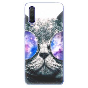 Silikonové pouzdro iSaprio - Galaxy Cat na mobil Xiaomi Mi 9 Lite