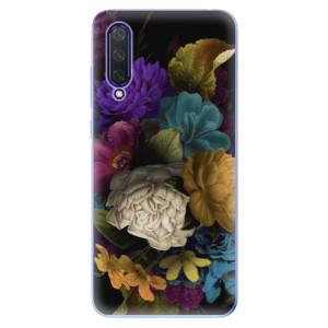 Silikonové pouzdro iSaprio - Dark Flowers na mobil Xiaomi Mi 9 Lite
