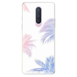 Silikonové pouzdro iSaprio - Digital Palms 10 na mobil OnePlus 8