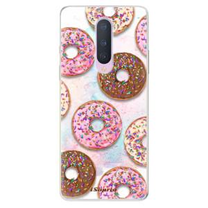 Silikonové pouzdro iSaprio - Donuts 11 na mobil OnePlus 8