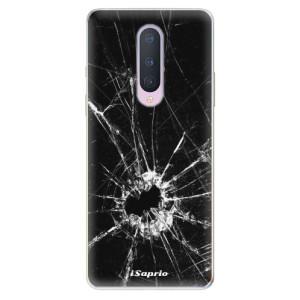 Silikonové pouzdro iSaprio - Broken Glass 10 na mobil OnePlus 8