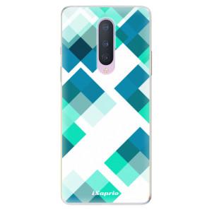Silikonové pouzdro iSaprio - Abstract Squares 11 na mobil OnePlus 8