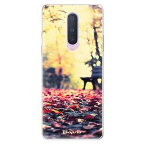 Silikonové pouzdro iSaprio - Bench 01 na mobil OnePlus 8