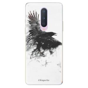 Silikonové pouzdro iSaprio - Dark Bird 01 na mobil OnePlus 8