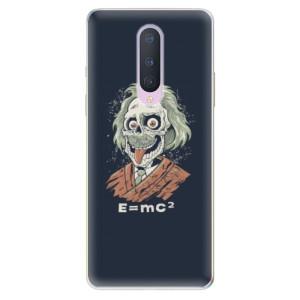Silikonové pouzdro iSaprio - Einstein 01 na mobil OnePlus 8