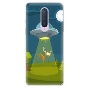 Silikonové pouzdro iSaprio - Alien 01 na mobil OnePlus 8