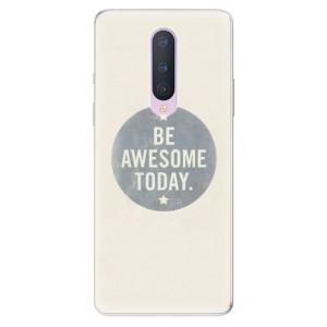 Silikonové pouzdro iSaprio - Awesome 02 na mobil OnePlus 8