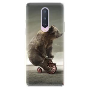 Silikonové pouzdro iSaprio - Bear 01 na mobil OnePlus 8