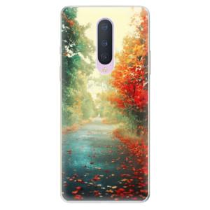 Silikonové pouzdro iSaprio - Autumn 03 na mobil OnePlus 8