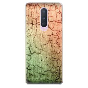 Silikonové pouzdro iSaprio - Cracked Wall 01 na mobil OnePlus 8