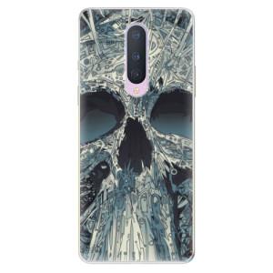 Silikonové pouzdro iSaprio - Abstract Skull na mobil OnePlus 8