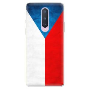 Silikonové pouzdro iSaprio - Czech Flag na mobil OnePlus 8