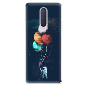 Silikonové pouzdro iSaprio - Balloons 02 na mobil OnePlus 8