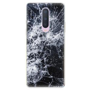 Silikonové pouzdro iSaprio - Cracked na mobil OnePlus 8