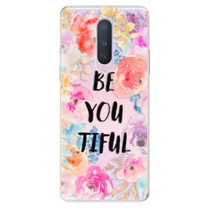 Silikonové pouzdro iSaprio - BeYouTiful na mobil OnePlus 8