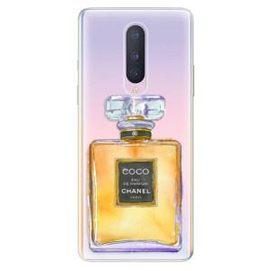 Silikonové pouzdro iSaprio - Chanel Gold na mobil OnePlus 8