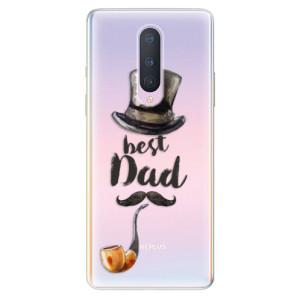 Silikonové pouzdro iSaprio - Best Dad na mobil OnePlus 8