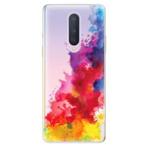 Silikonové pouzdro iSaprio - Color Splash 01 na mobil OnePlus 8