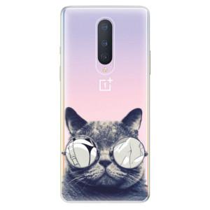 Silikonové pouzdro iSaprio - Crazy Cat 01 na mobil OnePlus 8