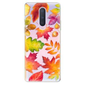 Silikonové pouzdro iSaprio - Autumn Leaves 01 na mobil OnePlus 8
