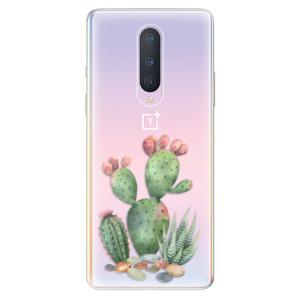 Silikonové pouzdro iSaprio - Cacti 01 na mobil OnePlus 8