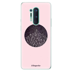 Silikonové pouzdro iSaprio - Digital Mountains 10 na mobil OnePlus 8 Pro