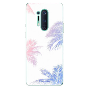 Silikonové pouzdro iSaprio - Digital Palms 10 na mobil OnePlus 8 Pro