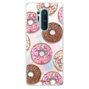 Silikonové pouzdro iSaprio - Donuts 11 na mobil OnePlus 8 Pro