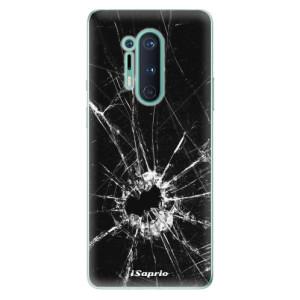 Silikonové pouzdro iSaprio - Broken Glass 10 na mobil OnePlus 8 Pro