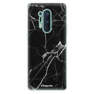 Silikonové pouzdro iSaprio - Black Marble 18 na mobil OnePlus 8 Pro