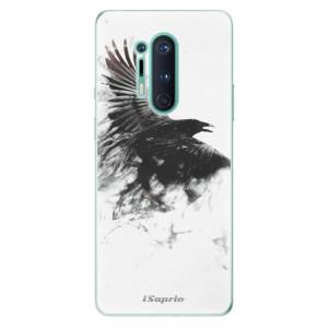 Silikonové pouzdro iSaprio - Dark Bird 01 na mobil OnePlus 8 Pro