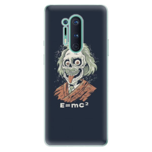 Silikonové pouzdro iSaprio - Einstein 01 na mobil OnePlus 8 Pro