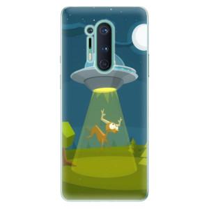 Silikonové pouzdro iSaprio - Alien 01 na mobil OnePlus 8 Pro