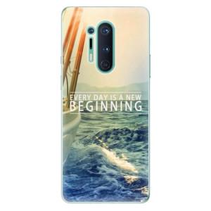 Silikonové pouzdro iSaprio - Beginning na mobil OnePlus 8 Pro