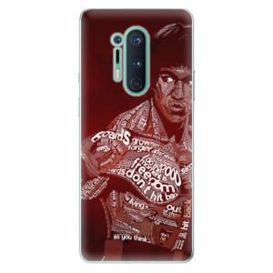 Silikonové pouzdro iSaprio - Bruce Lee na mobil OnePlus 8 Pro
