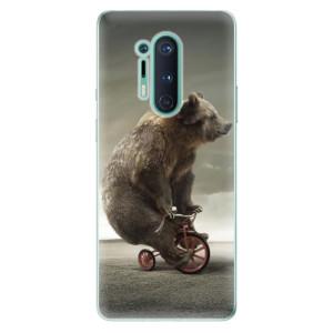 Silikonové pouzdro iSaprio - Bear 01 na mobil OnePlus 8 Pro