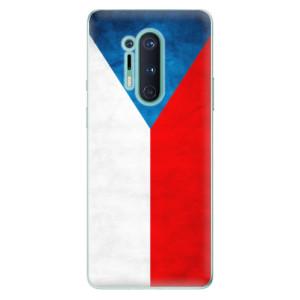 Silikonové pouzdro iSaprio - Czech Flag na mobil OnePlus 8 Pro